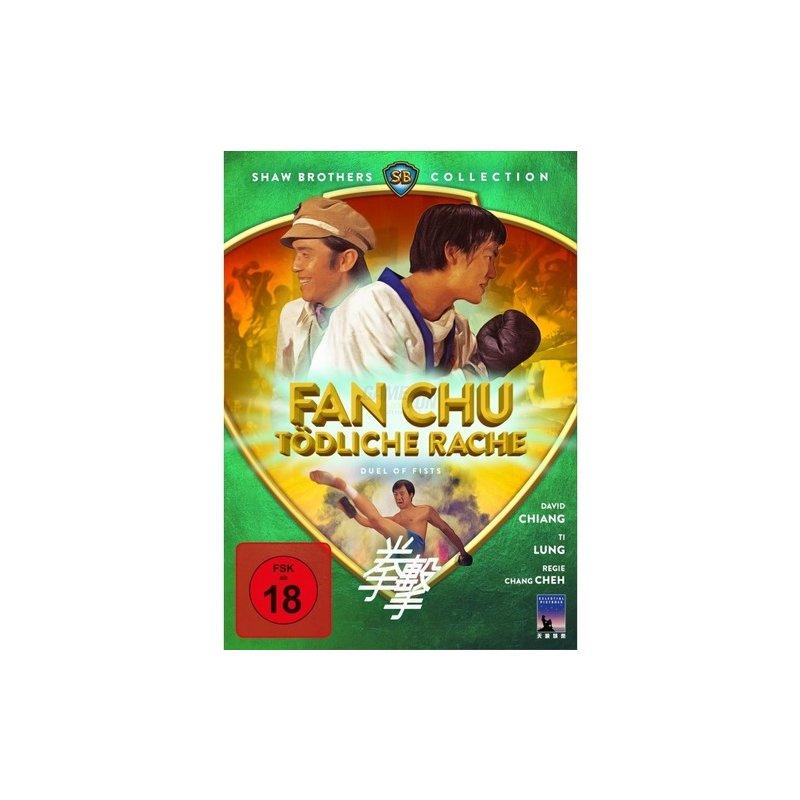 Black Hill Pictures Fan Chu - Tödliche Rache - Duel Of Fists (DVD)