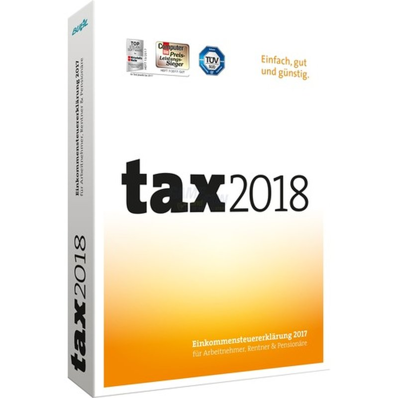 Buhl Tax 2018 1 PC Vollversion MiniBox (für Steuerjahr 2017)