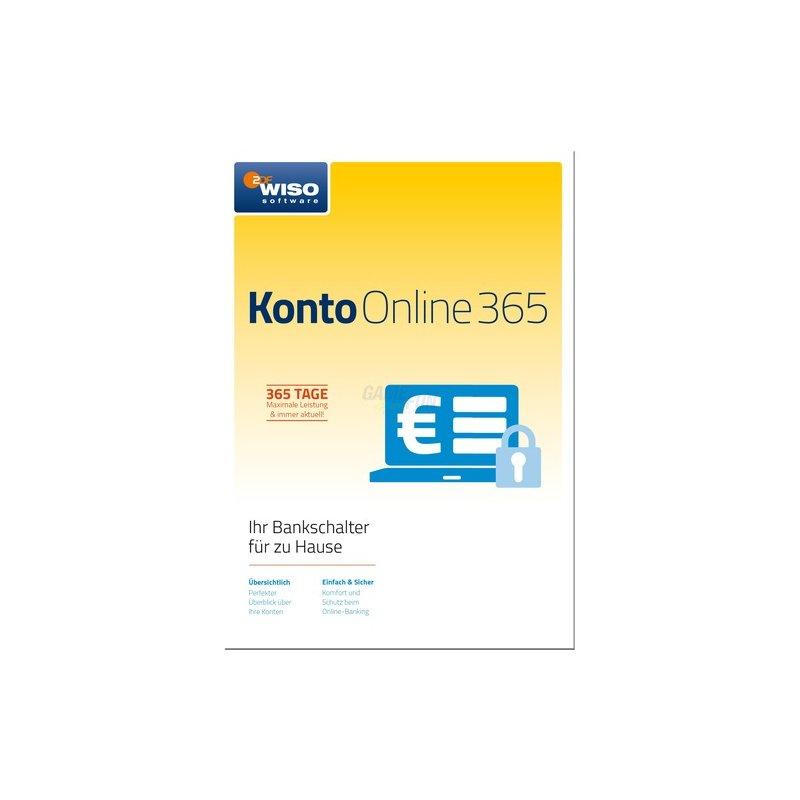 Buhl WISO Konto Online 365 - Jahresversion 2018 1 Benutzer Vollversion GreenIT 1 Jahr