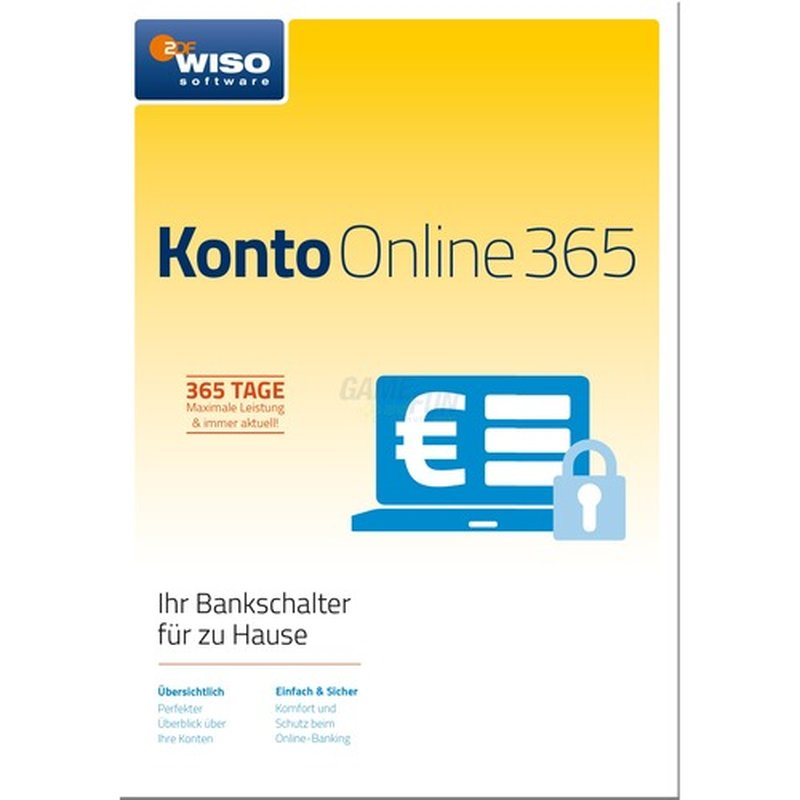 Buhl WISO Konto Online 365 - Jahresversion 2018 1 Benutzer Vollversion ESD 1 Jahr