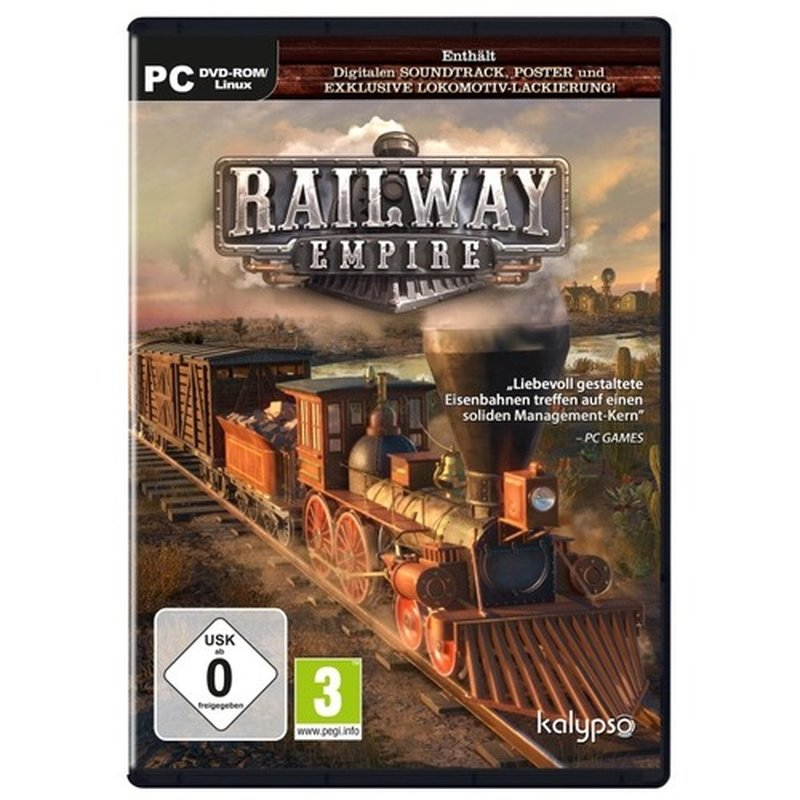 Kalypso Railway Empire (PC)