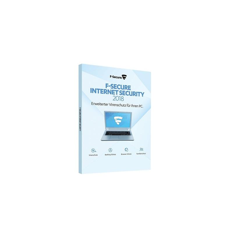 F-Secure Internet Security 1 PC Update EFS PKC 1 Jahr für aktuelle Version 2018