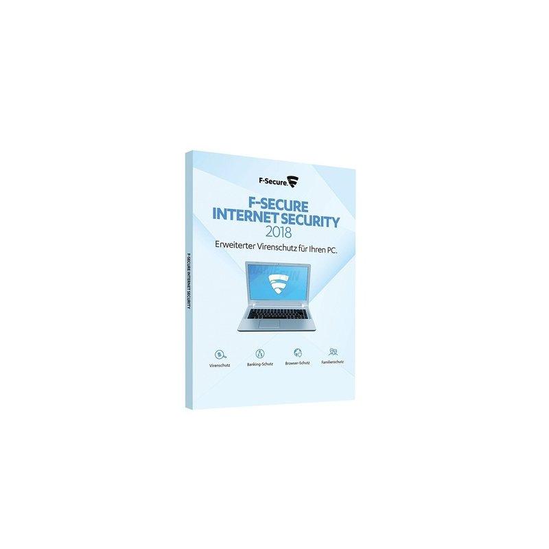 F-Secure Internet Security 1 PC Update GreenIT 1 Jahr für aktuelle Version 2018