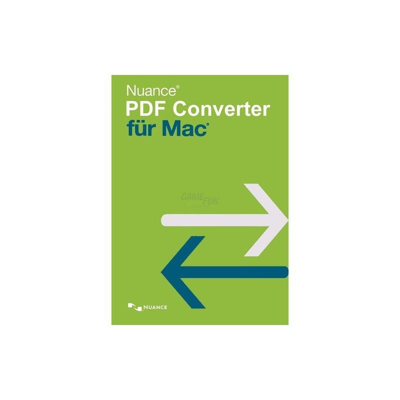Nuance PDF Converter für Mac 1 Gerät Vollversio...