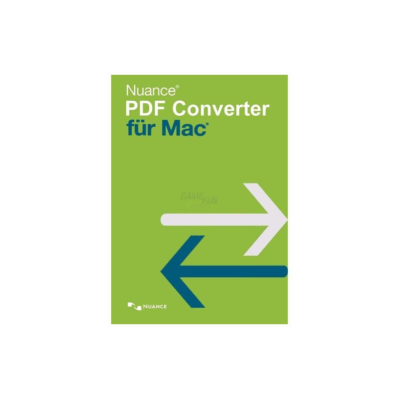 Nuance PDF Converter für Mac 1 Gerät Vollversion GreenIT
