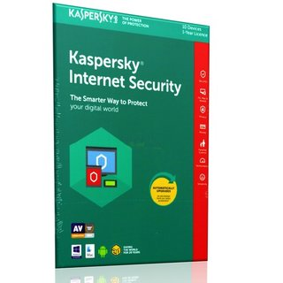 Kaspersky Internet Security 2018 ML 10 Geräte Vollversion EFS PKC 1 Jahr