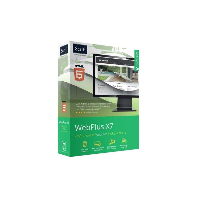 Serif WebPlus X7 Vollversion MiniBox