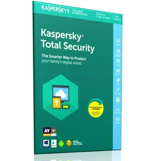 Kaspersky Total Security 2018 ML 3 Geräte Vollversion EFS PKC 1 Jahr