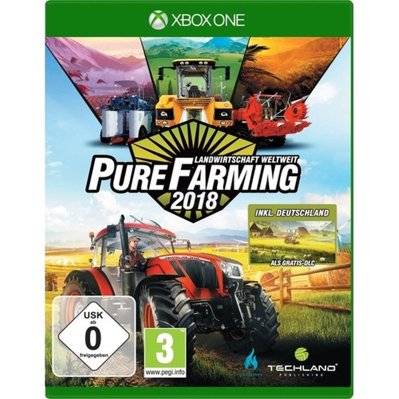 Techland Pure Farming 2018 D1 Edition ( XONE ) Landwirtschaft weltweit
