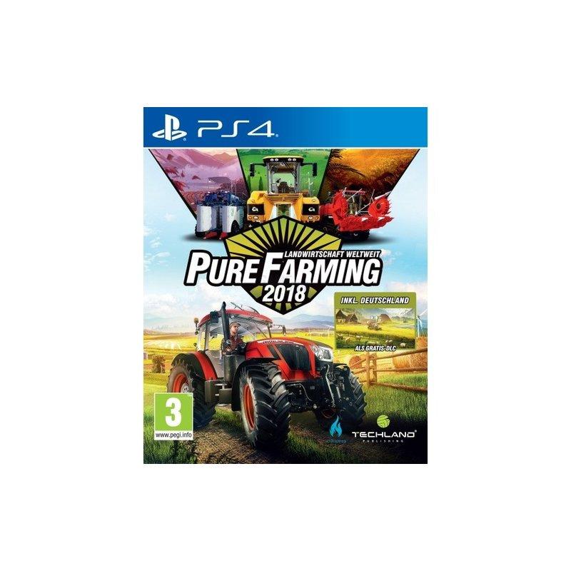 Techland Pure Farming 2018 D1 Edition ( PS4 ) Landwirtschaft weltweit
