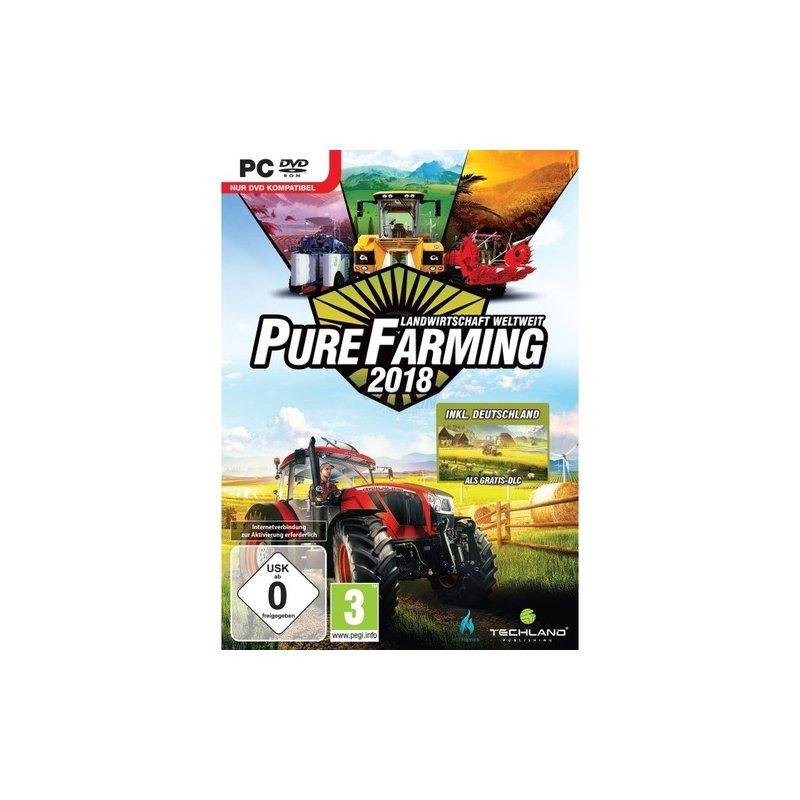 Techland Pure Farming 2018 D1 Edition ( PC ) Landwirtschaft weltweit