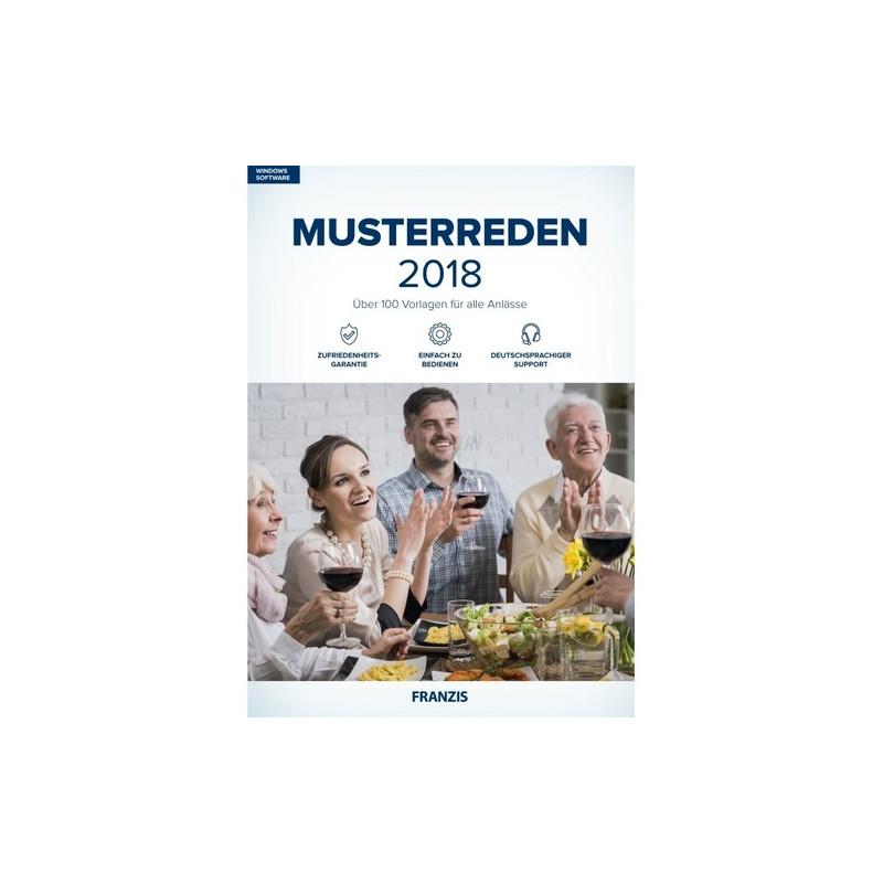 Franzis Verlag Musterreden 2018