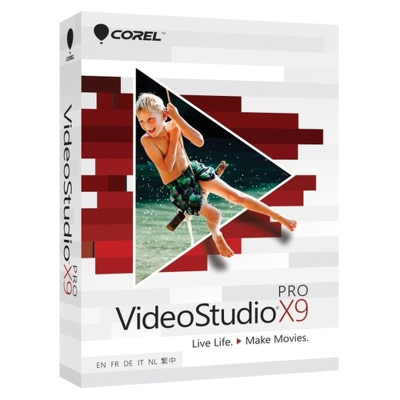Corel VideoStudio Pro X9 Vollversion MiniBox