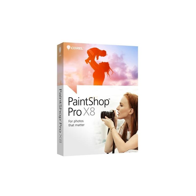 Corel PaintShop Pro X8 Vollversion EFS DVD