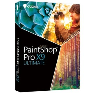 Corel PaintShop Pro X9 Ultimate Vollversion GreenIT
