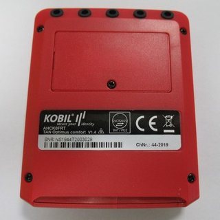 Kobil TAN Optimus comfort RED S Edition EFS