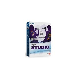 Corel Digital Studio 2010 4 in 1 Multimedia Suite DE ML 1 PC Vollversion MiniBox