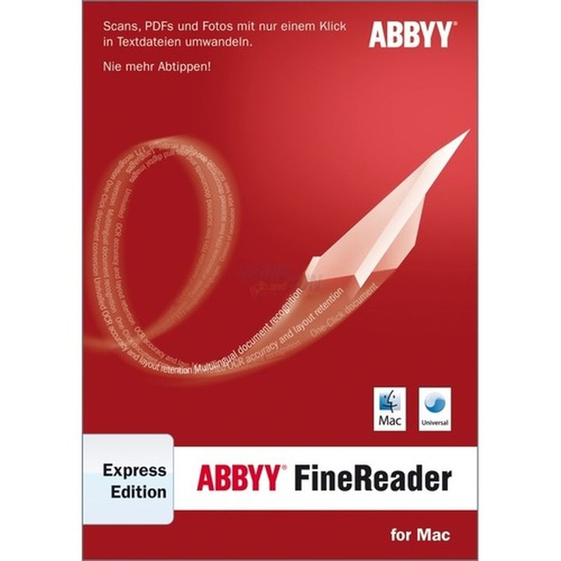 Abbyy FineReader Express Edition for Mac 1 Benu...